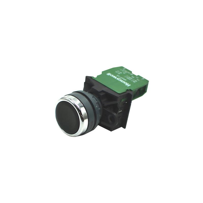 21635652 黑色按钮 PB22-10-B 1NO