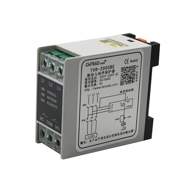 21580070 相序与断相保护器 TVR-2000B 220-440VAC 50/60HZ