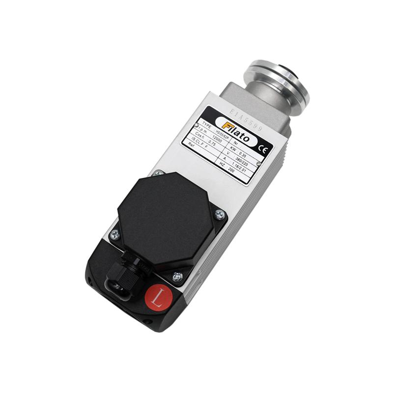 20111151 齐头电机 HSI55/62P-L  0.35KW 220/380V  12000RPM   200HZ左旋